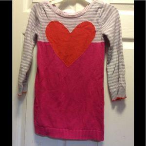 Girls sz 6 GYMBOREE sweater dress